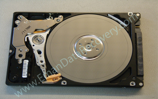 Recovering data from hard disk crash